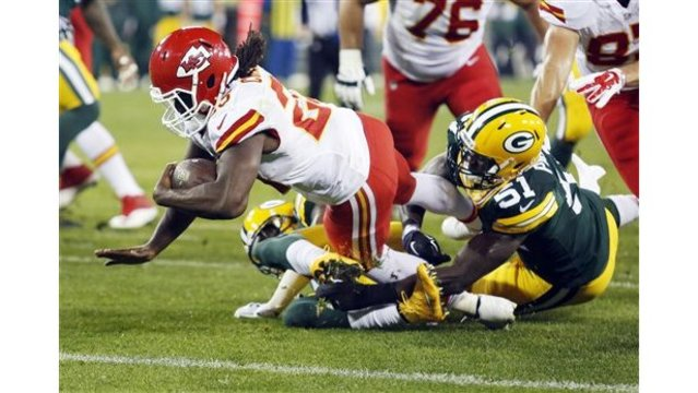 Rodgers throws for 5 TDs, Packers beat Chiefs 38-28