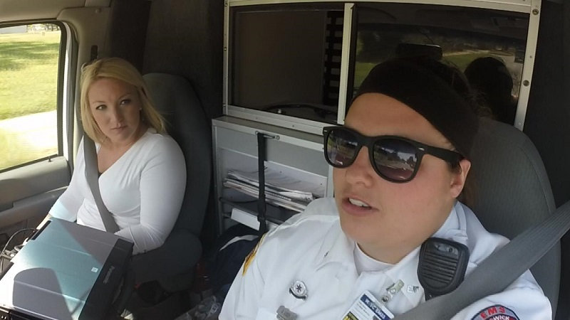 KSN's Brittany Glas rode along with Sedgwick County paramedics to learn more about how the county operates in emergency medical situations.