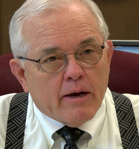 Sedgwick County Commissioner Dave Unruh
