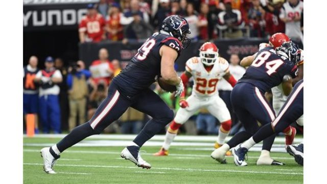 The Chiefs move on to play New England