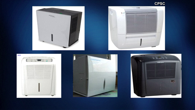 Gree recalls 13 dehumidifiers due to fire risk