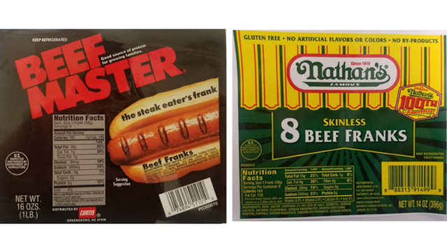 Maker of Nathan's hot dogs issues recall over metal concerns