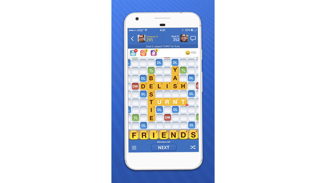 Words With Friends adds 50,000 pop culture words