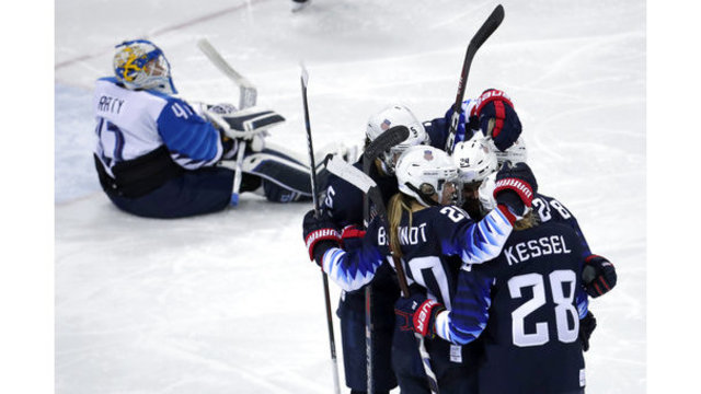 Once again, US will meet Canada for women's hockey gold