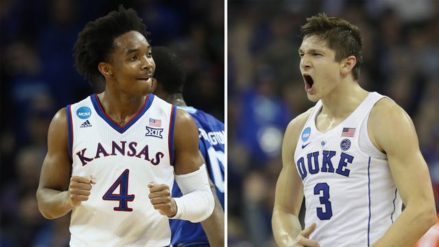 Kansas slips past Duke in OT, moves to Final Four