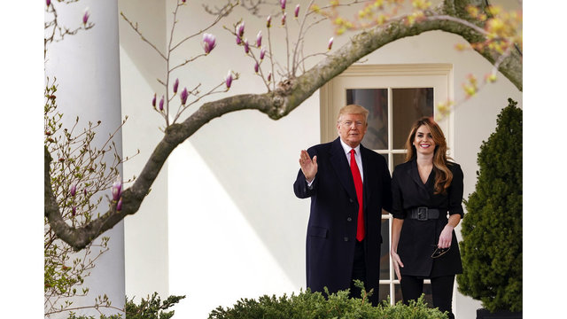 Hope Hicks Officially Leaves the White House