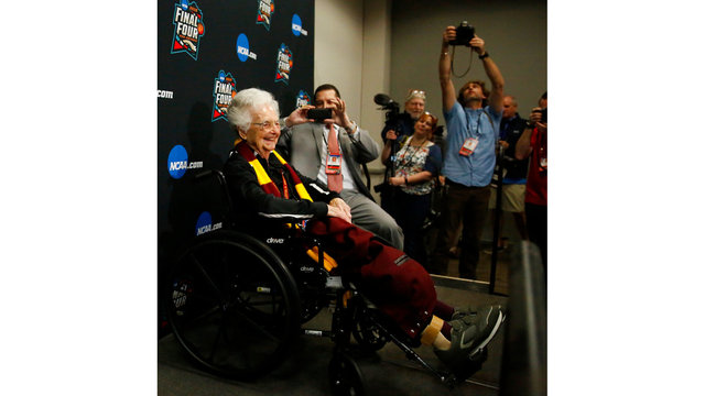 NCAA Latest: Sister Jean's pearls of wisdom at Final Four