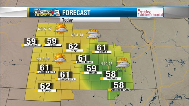 Western's Weather Wrap: Cloudy & Cool Sunday