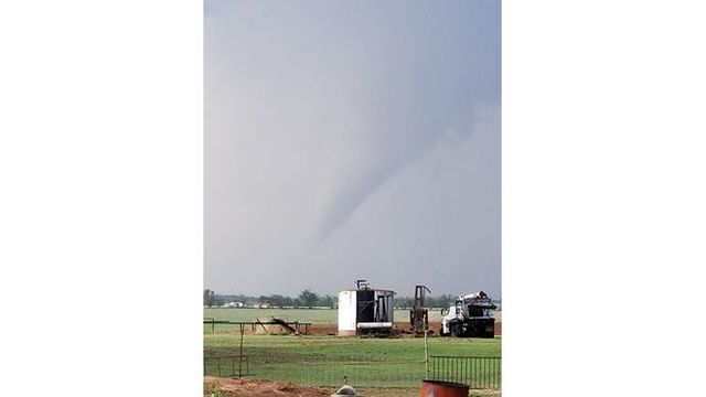 Funnel Cloud near Arkansas City Lisa Kelly-Wise_1526350818343.jpg.jpg