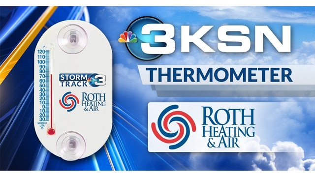 KSN / Roth Heating & Air Thermometer Giveaway