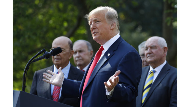 Video: President Trump speaks on new U.S., Mexico, Canada trade deal