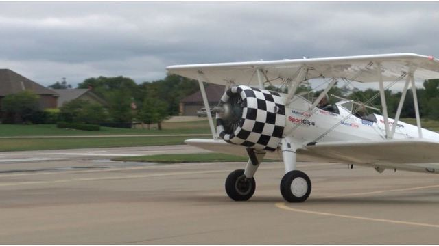 Veterans take to the skies for special event at Stearman Field