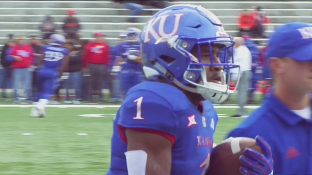 Kansas RB Pooka Williams granted diversion in battery case