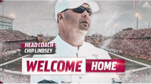 KU offensive coordinator Chip Lindsey named new head coach for Troy Football