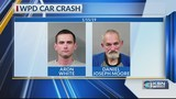 2 men arrested after ramming Wichita police car