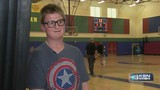 Video: Wichita team helps boy score first points in basketball game