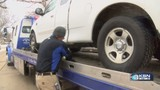 Tow truck companies swamped with calls during winter storm