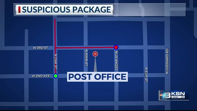 Suspicious package at Goddard Post Office cleared