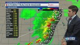 T.J.'s Forecast: A few storms possible tonight as low pressure system moves our way