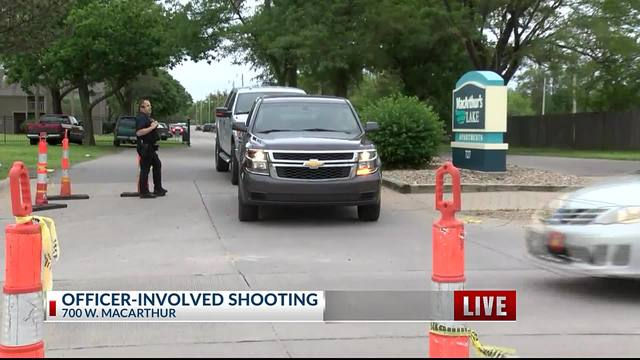 Suspect shot and killed by police at south Wichita apartment complex