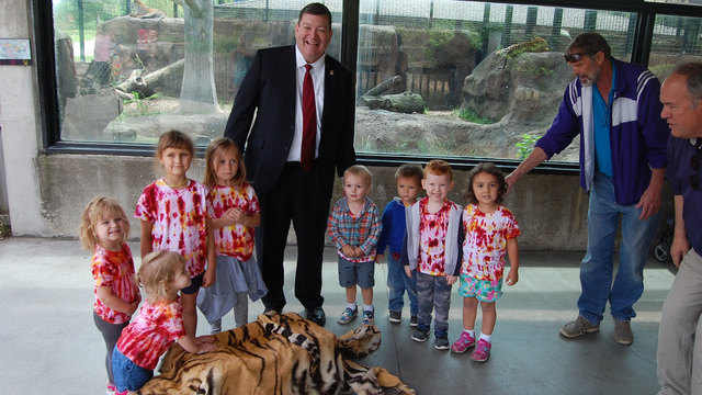 Kansas zoos receive donation of pelts from Dept of Justice